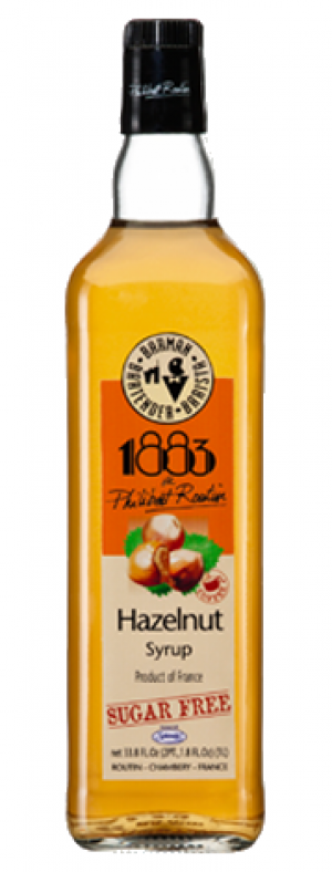 Philibert Routin 1883 Gourmet Barista Syrup - Flavor Hazelnut 1 litre